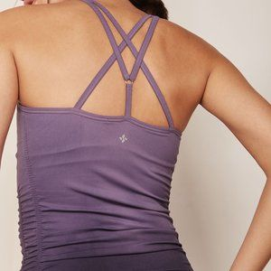 NUX Active NWT Spellbound Strappy Back Workout Top